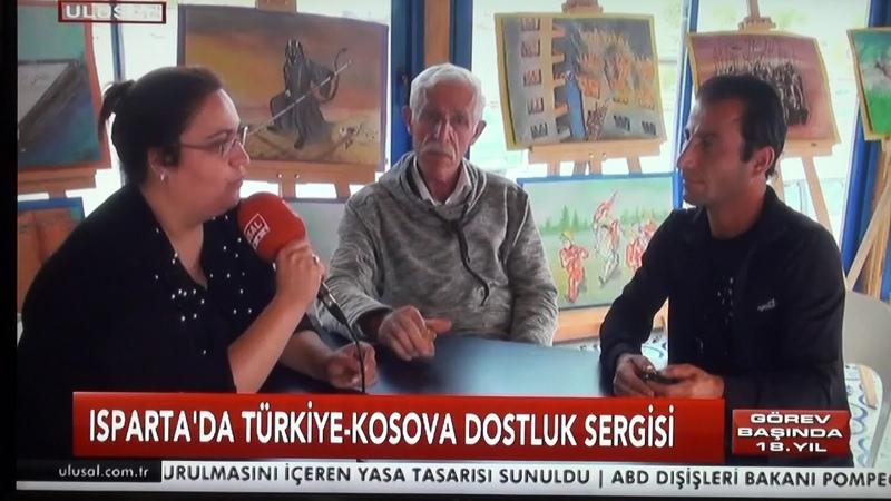 ISPARTA'DA TÜRKİYE KOSOVA DOSTLUK SERGİSİ