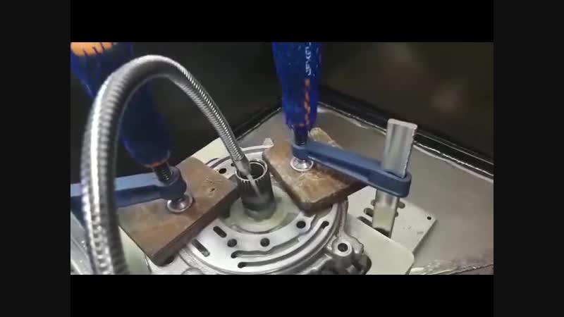 Вакуумирование насоса