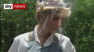Prince Harry continues Diana's legacy on landmines