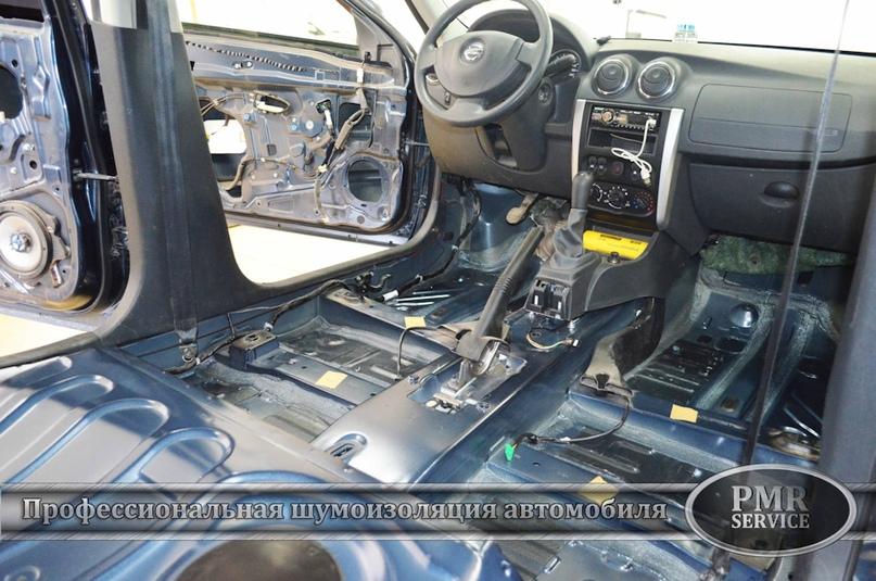 Шумоизоляция Nissan Almera, изображение №11