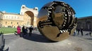 Sphere Within Sphere - Vatican Museum (slow motion)