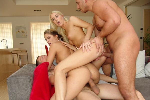 Perky tits blonde enjoys tasty dick in class