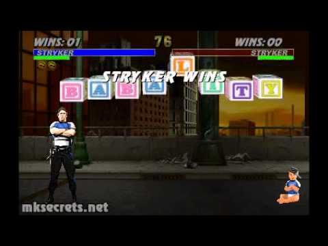Mortal Kombat Trilogy All Babalities