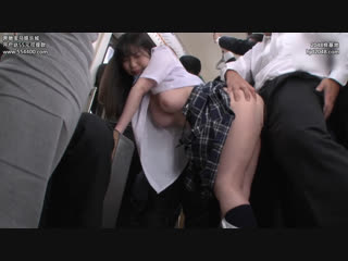 School girl in uniform gets mercilessly groped on the train everyday aika yumeno 1080p [all sex, blowjob, big tits, abuse]