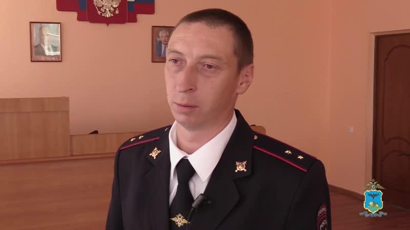 Полицейский спас белгородку которая подавилась едой