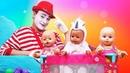Беби Бон Как мама - Многодетный папа Беби Бонов. Игры в куклы на МиниМи - Смешные видео