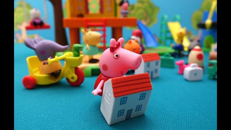 Свинка Пеппа взяла из садика чужую игрушку Что делать Пеппины истории