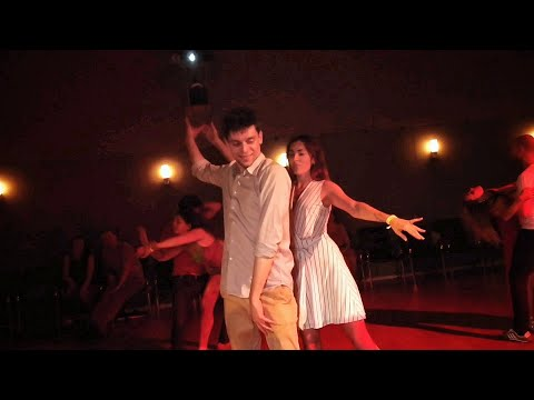 Vladimir Blinov and Victoria Osipova Zoukendary Zouk improvisation