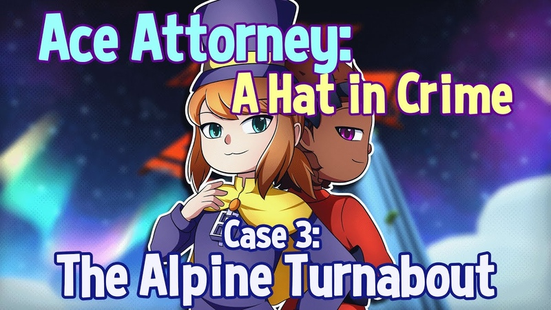 Ace Attorney A Hat in Crime Case 3 The Alpine Turnabout