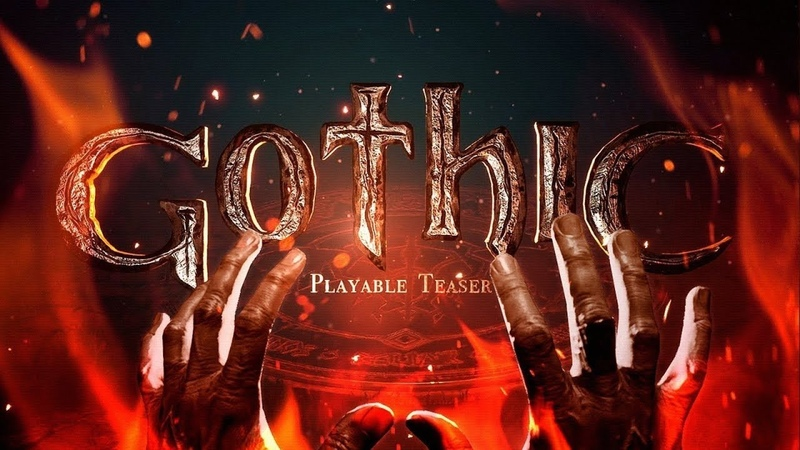 Gothic 1 Remake Playable Teaser - Прохождение и мнение от фаната, РЕМЕЙК ГОТИКИ В РАЗРАБОТКЕ