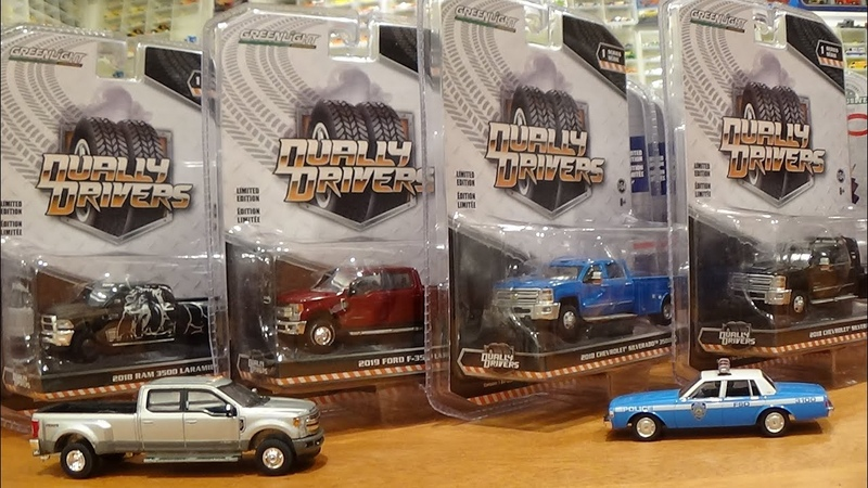Greenlight BRAND NEW Dually Drivers - Series 1 REVIEW
