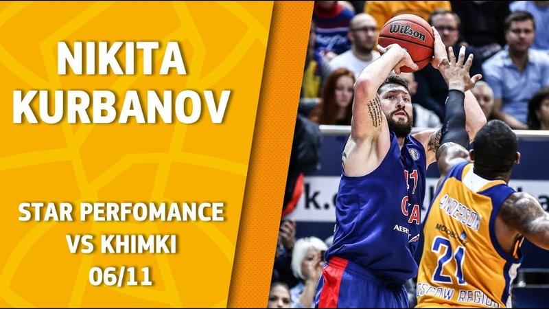 Star Performance. Nikita Kurbanov vs Khimki – 21 pts 5 reb!