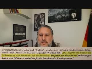 Tim K- - FRONTALANGRIFF AUF MERKEL - Migrationspakt rechtlich stoppen-