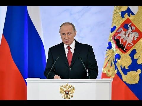 Messaggio annuale del Presidente della Federazione Russa all'Assemblea federale - 2019