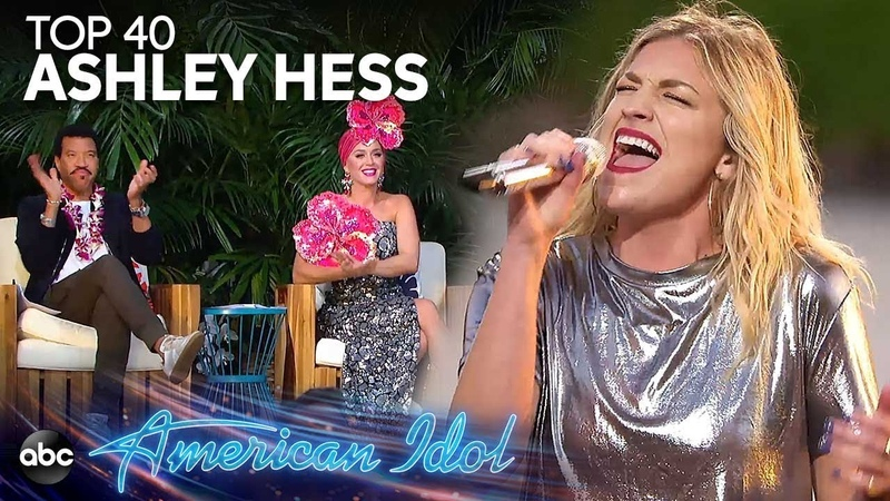Ashley Hess Sings Gone Away by H.E.R. at Disney Aulani - American Idol 2019 on ABC