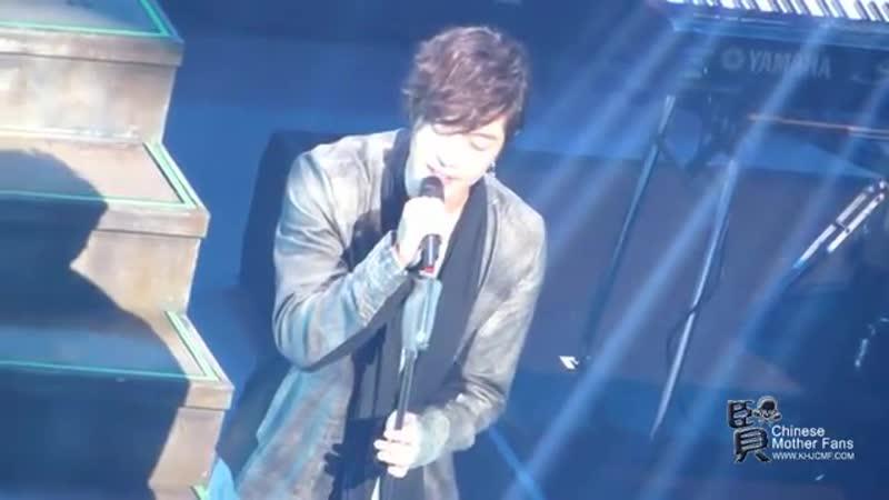 2013.01.11 Kim Hyun Joong 김현중 Unlimited Japan Tour@Nagoya -- Save today