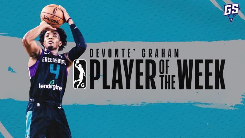 Hornets Rookie Devonte' Graham NBA G League Highlights With Greensboro Swarm