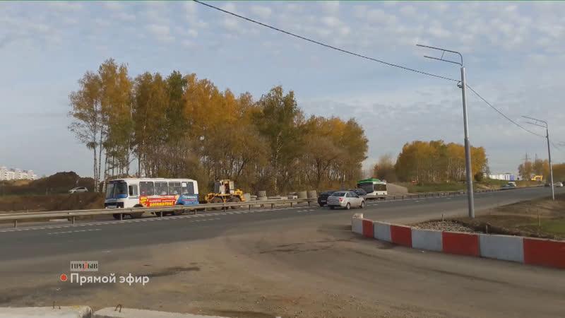 Вводится ограничение движения на повороте на поселок Содышка