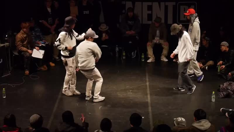 XEBEC 2 vs 뉴뉴뉴 뉴트라이브 - Hiphop quarter final @Alleyoop vol2