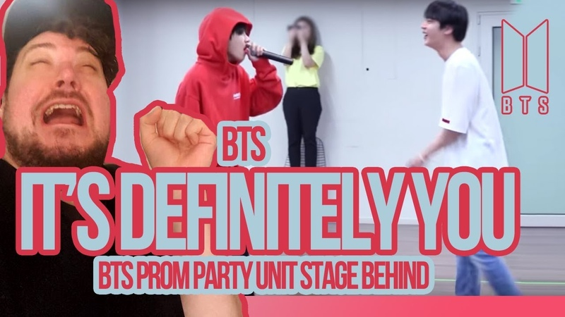 Mikey Reacts to BTS Prom Party Unit Stage Behind It's Definitley You