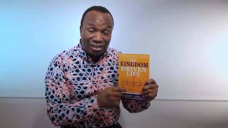 4 Books Sunday Adelaja HURRAY ITS 2ND OCTOBER THE KINGDOM DRIVEN LIFE BOOK IS BEEN RELEASED