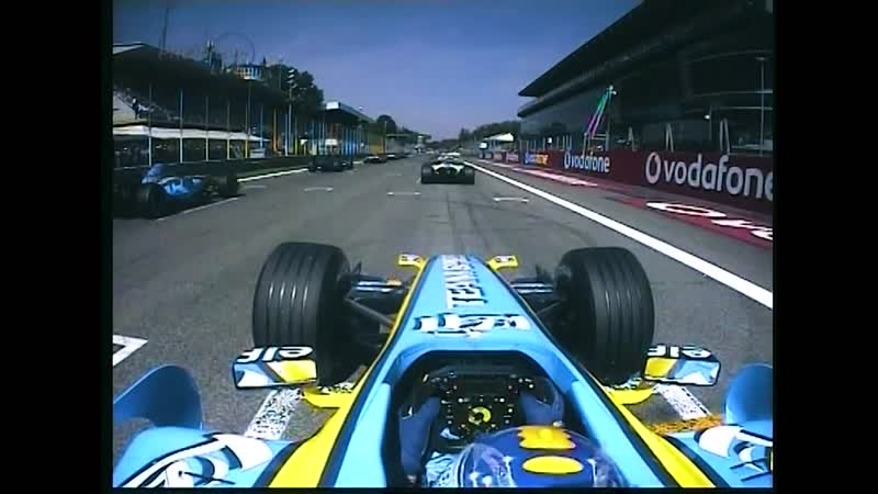 F1 2006 Renault R26 Onboard Engine Sounds