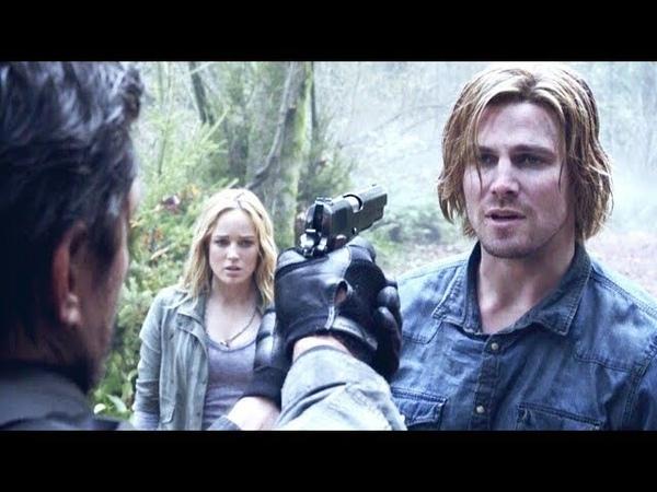 Оливер отговаривает Слайда от взрыва корабля на Лян Ю (Стрела 2 Сезон 12 Серия)