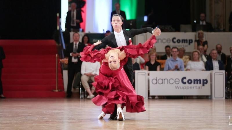 Tomas Fainsil - Violetta Posmetnaya, GER | danceComp 2019 Wuppertal - WDSF WO STD - solo Q