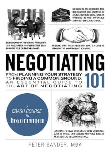 Peter Sander] Negotiating 101  From Planning Your