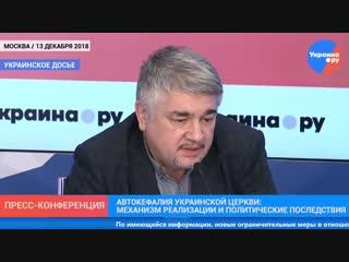 Украинское досье_ автокефалия украинской церкви_ механизм реализации и политические последствия