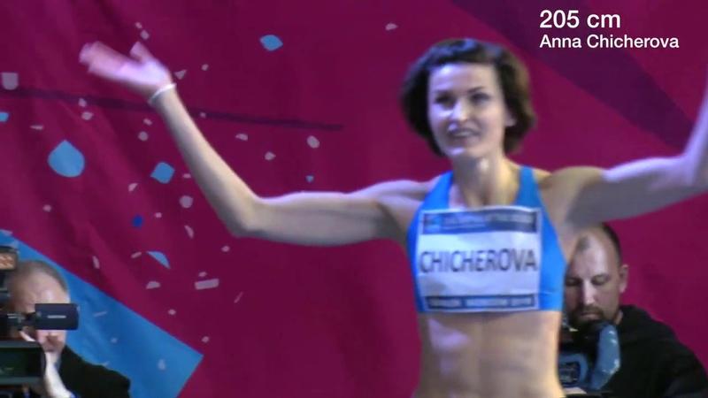 Anna Chicherova vs Mariya Lasitskene! High Jump. Moscow, January 2019
