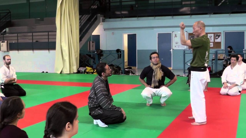 Hino AKIRA au Dojo d Herblay à l invitation de L o et Issei TAMAKI