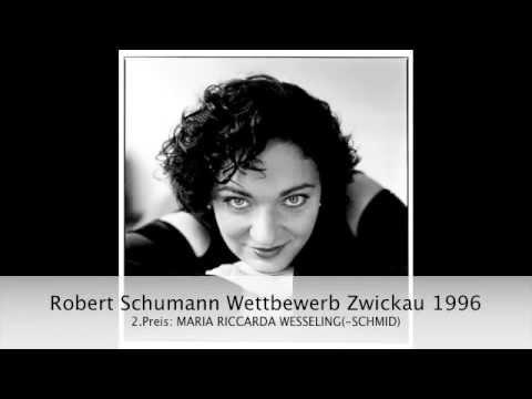 Robert Schumann: 7 Lieder nach Elisabeth Kulmann op.104
