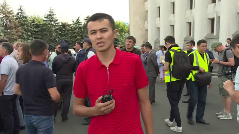 Алматыдағы Қытай экспансиясына наразылық / Акция в поддержку жанаозенцев