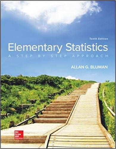 Elementary Statistics A Step By Step Approach 10th Edition
