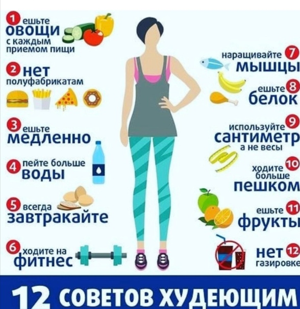 Советы чтобы правильно похудеть