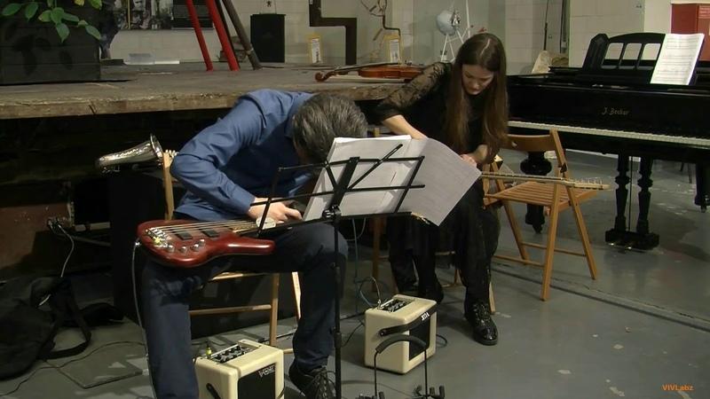 Oleg Gudachev - Götterdämmerung for el.guitar, bass guitar and tape {instead} ensemble