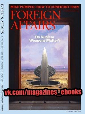 Foreign Affairs November December 2018