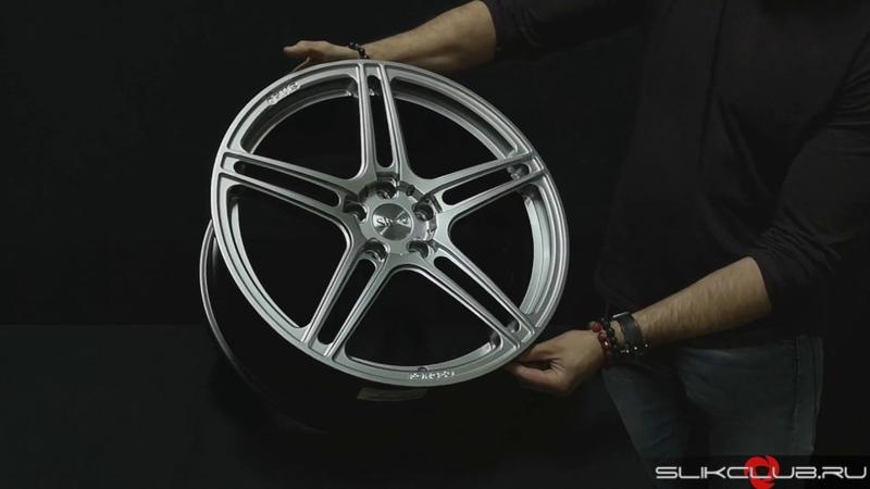 Кованые диски Слик L914 HPB Slik forged wheels L914 HPB Обзор от Slik Club