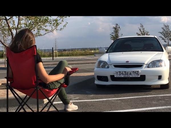 Olga Mischenko Civic Type R Redliners Racing