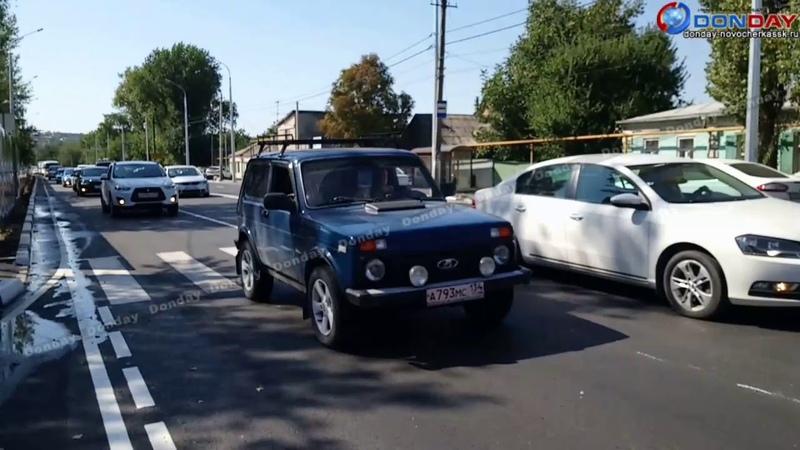 Donday Лежачие полицейские на Гагарина в Новочеркасске создают пробки