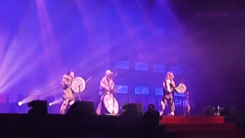 Северное этно барабанное шоу / Бубны, варганы, горловое пение / Шаманы Drums-Show ✪