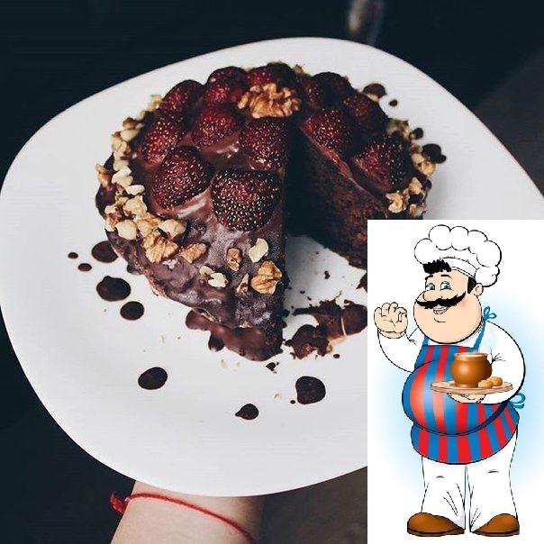 """Рецепт безумно шоколадного и вкусного торта,который мне напомнил вкус пирожного """"Картошка"""""""