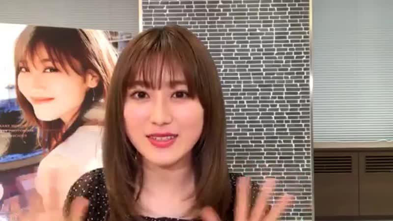 欅坂46 守屋茜 ファースト写真集『潜在意識』発売記念SP SHOWROOM 2019年06月24日