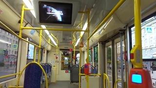 Трамвай Санкт-Петербурга 9-501:  (УКВЗ) б.3704 по №40 ()