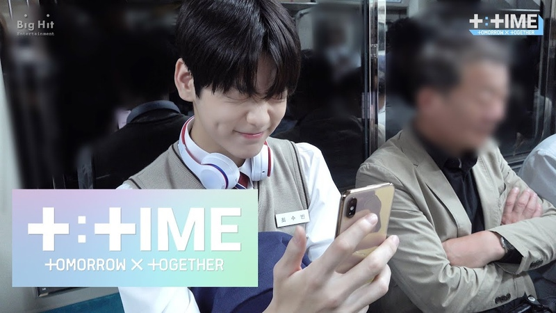 [TTIME] SOOBIN's Rabbit Emoticon - TXT (투모로우바이투게더)