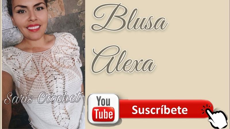 Blusa Alexa 1era parte