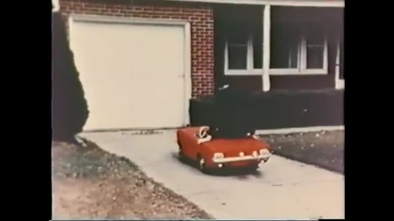 Pizza Huts first commercial 1965 Mustang JR