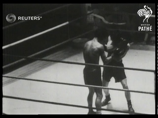 Peter Kane beats Theo Medina for the European Bantamweight Title Fight Championship (1947)