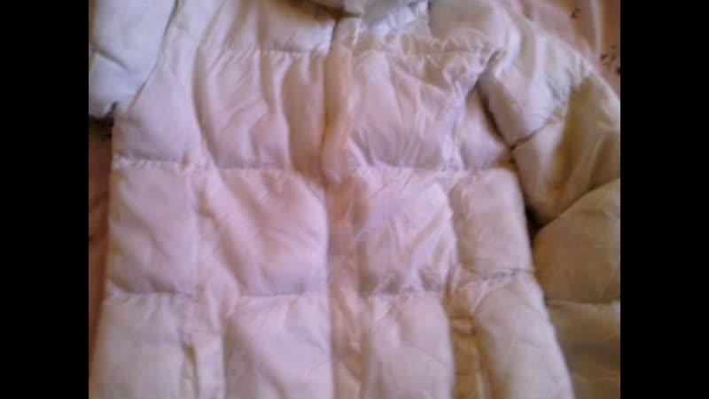 White winter jacket / coat